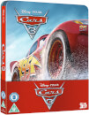 Cars 3 3D (Includes 2D Version) - Zavvi Exclusive Limited Edition Steelbook