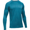 Under Armour Men's Tech Novelty Long Sleeve Top - Blue