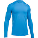 Under Armour Men's ColdGear Reactor Fitted Long Sleeve Top - Blue