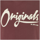 T-Shirt Homme Originals Noah Jack & Jones - Bordeaux