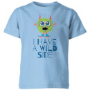 My Little Rascal I Have A Wild Side Kids' T-Shirt - Light Blue