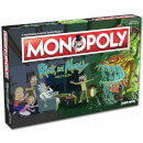 Monopoly Board Game - Rick and Morty Edition