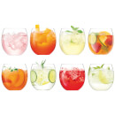 LSA Balloon Tumblers - 450ml (Set of 8)