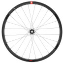 3T R Discus Plus C30W Team Stealth Front Wheel - Black - 30mm