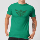 "Camiseta Nintendo The Legend of Zelda ""Escudo Hyrule"" - Hombre - Verde"