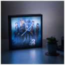 Star Wars The Last Jedi 3D Luminart