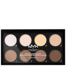 Paleta Highlight & Contour Pro da NYX Professional Makeup