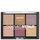 NYX Professional Makeup Cosmic Metal Shadow Palette