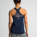 Crossback Tank Top - Navy