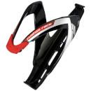 Elite Custom Race Resin Bottle Cage - Black/Red