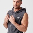 Tru-Fit Sleeveless Hoodie - S - Charcoal