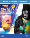 Sing 3D (Includes 2D Version) Limited Edition Steelbook