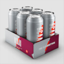 BCAA Drink - 6 x 440ml - Cola-Kirsche