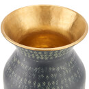 Nkuku Dando Brass Pot - Antique Brass - Small