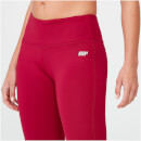Classic Heartbeat Full-Length Leggings - XL - Red