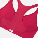Classic Heartbeat Sports Bra - L - Red