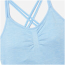 Shape Seamless Vest - L - Light Blue Marl
