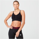 Shape Seamless Sports Bra - Black - S - Black