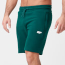 Tru-Fit Zip Sweatshorts - S - Dark Green
