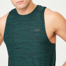 Dry-Tech Infinity Tank-Top - S - Dark Green Marl