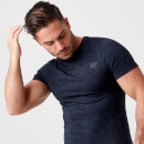 Sculpt Seamless T-Shirt - Green - XS - Navy