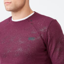 Pro-Tech Crew Neck Sweatshirt 2.0 - S - Burgundy