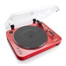 Lenco L-85 Turntable with USB Direct Recording - Red