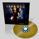 Iron Man: The Original Motion Picture Soundtrack OST – Zavvi Exclusive - Limited Coloured Gold Vinyl (500 Worldwide Only)