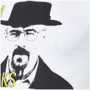 T-Shirt Homme I Am The One Who Knocks Breaking Bad - Blanc
