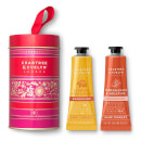 Crabtree & Evelyn Pomegranate and Citron Tin 2x25g Hand Therapy
