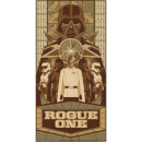 Star Wars - Rogue One Print by Mark Daniels (305mm x 610mm)