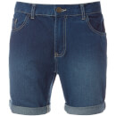 Brave Soul Men's Uganda Denim Shorts - Mid Wash