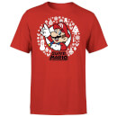 Nintendo Super Mario White Wreath Red T-Shirt