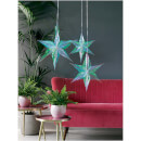 Foil Star Decorations - Iridescent