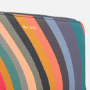 Paul Smith Women's Swirl Large Zip Around Purse - Multi
