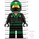 LEGO The Ninjago Movie Lloyd Minifigure Clock