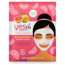 yes to Grapefruit Vitamin C Glow Boosting Paper Mask 20ml