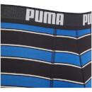 Puma Men's 2 Pack Rugby Stripe Boxers - Blue/Red