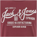 Jack & Jones Originals Men's Slack T-Shirt - Cordovan