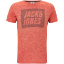 Jack & Jones Men's Core Toby T-Shirt - Poinciana