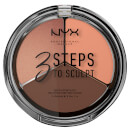 NYX Professional Makeup 3 Steps to Sculpt Face Sculpting Palette - Deep