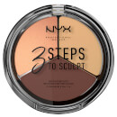 NYX Professional Makeup 3 Steps to Sculpt Face Sculpting Palette - Medium