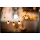 Lyyt 10 Bauble Indoor Festoon LED Lights - Warm White