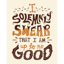 Harry Potter 'I Solemnly Swear' Art Print