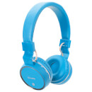 AV: Link Wireless Bluetooth On-Ear Noise Cancelling Headphones (With Built-in FM Radio) - Blue