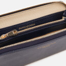 Aspinal of London Women's Continental Clutch Wallet - Midnight Blue