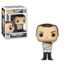 James Bond Sean Connery in White Tuxedo Pop! Vinyl Figure