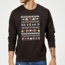 Disney The Muppets Muppets Christmas Heads Black Christmas Sweatshirt