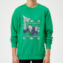 DC Batman Happy Holiday The Joker Green Christmas Sweatshirt