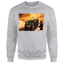 Star Wars Jawas Christmas Tree Grey Christmas Sweatshirt